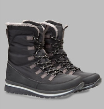 Zakti Snow Angel Womens UK 5 & 8 Black Water Resistant Fur Lined Snow Boots