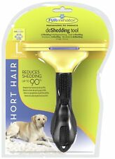 FURminator Deshedding tool for Short haired Dogs.