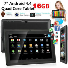 7 Inch Tablet 1G +16G Android 4.4 Dual Camera quad Core bluetooth Wifi Phablet
