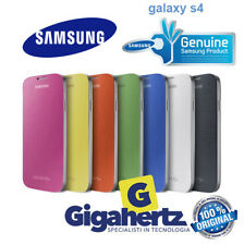 FLIP COVER SAMSUNG GALAXY S4 VARI COLORI CUSTODIA LIBRO ORIGINALE