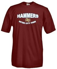 T-Shirt girocollo manica corta Supporters T11 West Ham Hammers Inter City firm