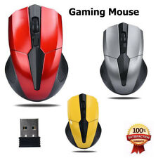 2.4GHz Mice Optical Mouse Cordless USB Receiver PC Computer Wireless for Laptop