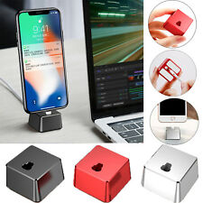 Baseus Charger Desktop Charging Cradle Holder Data Sync Cable for iPhone X 8 7 6