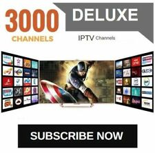 IPTV SUBSCRIPTION 1-12 Months - 3100+ LiveTV + 17,000+ VOD + PPV ** IPTV SERVICE