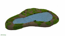 Wargames Scenery Terrain Resin Modular Lake/Pond Bolt Action Warhammer 40K