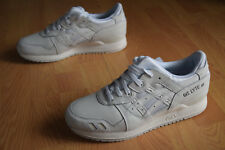 asics gel lyte III  41,5 43,5 44 saga V IV patta H534L 0101 All White vegan