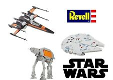 Revell Star Wars Model- At-Act Walker - Millennium Falcon - Poe's X-Wing Fighter
