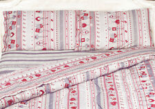 TRAPUNTA INVERNALE PIUMONE- MAISON COUNTRY(gr 320) BORDEAUX-100%MADE IN ITALY