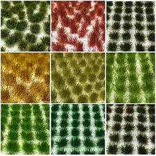 Static Grass Tufts, Flowers and Plants (Various Colours)