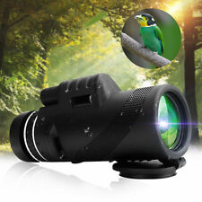 40X60 Zoom Optical HD Lens Monocular Telescope+ Tripod+ Clip For Apple