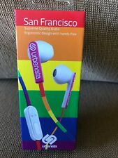 URBANISTA San Francisco Headphones - Black/White/Blue/Pink/Green BOXED!