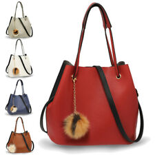 Designer Women's Large Hobo Shoulder Bag Charm Ladies Stylish Leather Handbags