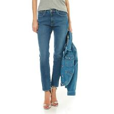 Wrangler - Dancing Days - Jean boyfriend - denim bleu