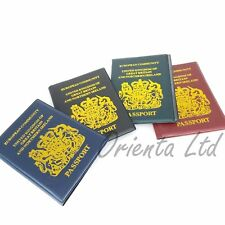 New UK Passport Holder Protector Cover Wallet PU Leather United Kingdom EU
