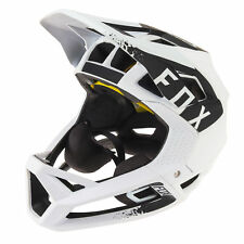 FOX Casco integrale bike Proframe White Black – 2018