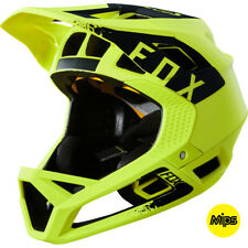 FOX Casco integrale bike Proframe Yellow Fluo  – 2018