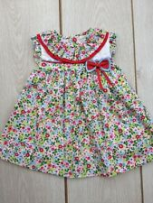 SUMMER SALE Baby Girls Romany Spanish Floral Dress 6Mths, 12Mths, 18Mths, 24Mths