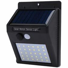 LED Solar Power PIR Infrared Motion Sensor Wall Lamp
