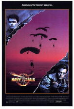 71936 Navy SEALS Movie Charlie Sheen, Michael Biehn FRAMED CANVAS PRINT Toile