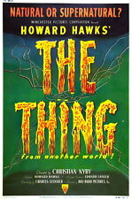 73011 THE THING FROM ANOTHER WORLD Movie 1951 Horror FRAMED CANVAS PRINT Toile