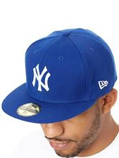 Casquette ajustée New Era League Basic 59Fifty New York Yankees Bleu-Blanc