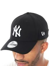 Casquette Flexfit New Era League Basic 39Thirty New York Yankees Noir-Blanc