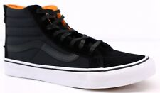 Vans SK8-Hi Slim Zip Boom Boom Hi-Tops Black/True White Trainers Sneakers Unisex