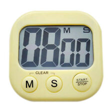 New Magnetic Kitchen Digital LCD Count Down Up Counter Timer Alarm Clock