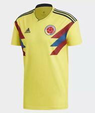 2018 World Cup Colombia National Soccer Team Jersey Mens Adidas CW1526
