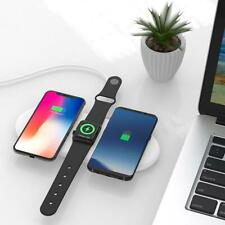 iPhone Fast qi Charging Stand 10w Charge Adapter Wireless Fast Charging Pad 3 in