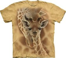 The Mountain Maglietta Unisex Adulto Newborn Giraffe Zoo