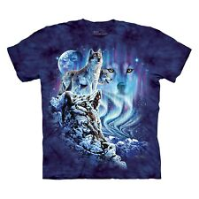 The Mountain Maglietta Find 10 Wolves Wolf Adulto Unisex