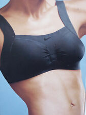 Nike Fit Dry Sports Bra Size 32 -40 B-D Black /  White and Nude (226015)