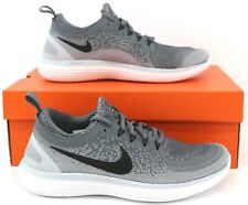 Nike Free RN Distance 2 Unisex Flyknit Running Shoes Trainers Sneakers Grey