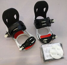 FIFTY ONE FIFTY Strato black snowboard bindings attacchi snowboard neri _