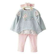 Baby Girl Toddler Casual Party Birthday Autumn Floral Lace Infant winter Outfit
