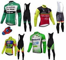 COMPLETO CICLISMO MTB BICI INVERNALE TEAM BIKE Complete Cycling PILE TERMICO