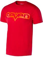 Tee shirt Enfant Seven MX Brand Rouge-Rouge