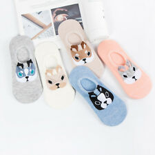 Cartoon Animal Low Socks Women Invisible Boat Sock Summer Cotton Breathable Sock