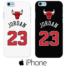 Funda Carcasa NBA basket Michael Jordan Chicago Bulls 23 Iphone 4 5 6 6+ 7 7+