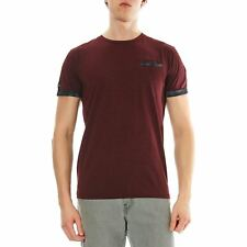 Deeluxe - Andreas - T-shirt manches courtes - prune