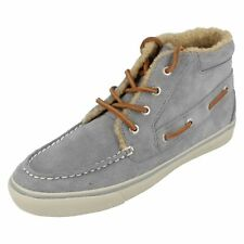 SPERRY BETTY ante gris / Osito mujer botines talla UK 5 (38b) (llaves)