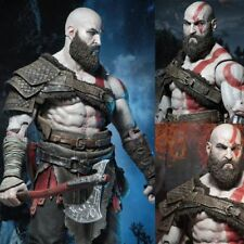 GOD OF WAR 3/4 ACTION FIGURES 18cm FROM GAME PS4 NECA KRATOS GHOST OF SPARTA -IT