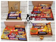 PEANUT BUTTER Chocolate Gift Hamper Selection Boxes - American Reeses and more!!