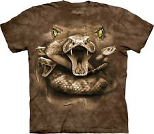 Snake Moon Eyes Zoo T Shirt Adult Unisex The Mountain
