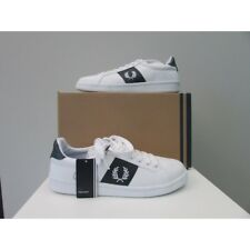 Scarpe sneakers uomo Fred Perry Canvas bianche (hogan, armani, harmont & blaine)