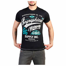 Geographical Norway Geographical Norway T-shirt Geographical Norway Uomo Nero 90