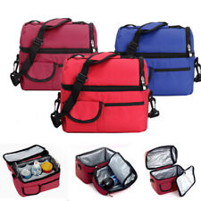 Convenient Picnic Lunch Bag Cooler Bag Ice Bag Lunch Box Assorted Colors