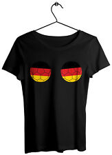 Football Boobs Germany Shirt DEUTSCHLAND World Cup Shirt Germany Supporter Top