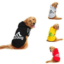 Cute Dog Clothes Winter Warm Adidog Cotton Hoodie Sweater Coat Jacket For Pet